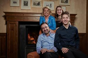 Gastgeberfamilie & Team