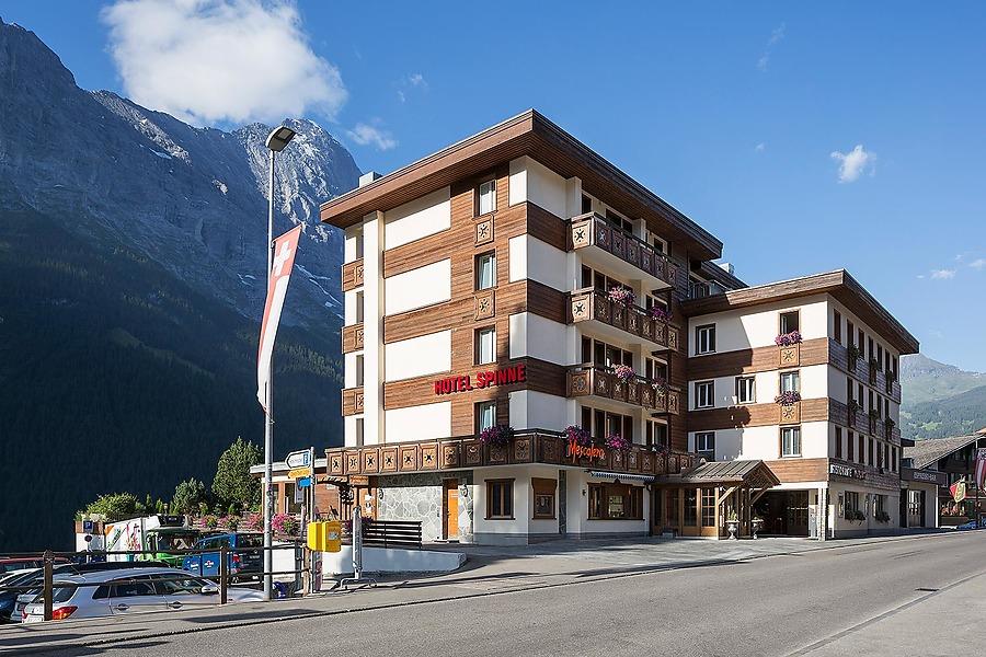 Grindelwald hotel spinne 4 sterne for Design budget hotel salinenparc 0 sterne